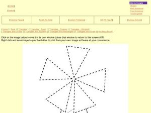 All About Triangles Worksheet