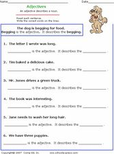 Adjectives 4 Worksheet