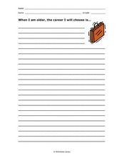 When I am older... Worksheet