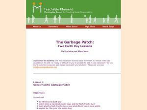 The Garbage Patch: Two Earth day Lessons Lesson Plan