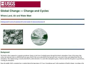 Global Change — Change and Cycles  Where Land, Air and Water Meet Lesson Plan