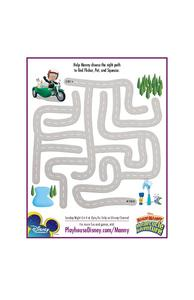 Help Manny Find Flicker, Pat, and Squeeze Worksheet