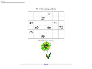 Know Your Pattern Twenty Worksheet