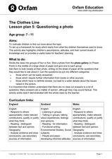 Questioning a Photo Lesson Plan