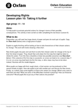 Developing Rights Lesson Plan 10: Taking It Further Lesson Plan