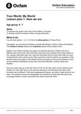 Here We Are Lesson Plan