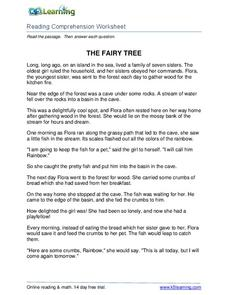 The Fairy Tree Worksheet