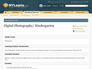 Digital Photography Lesson Plan