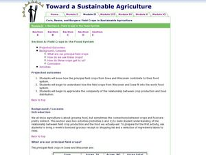 Field Crops in the Food System Lesson Plan