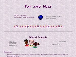 Far and Near Lesson Plan