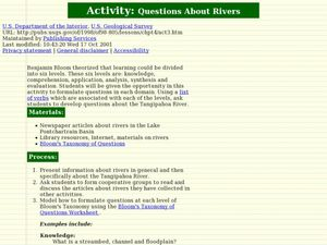 Questions About Rivers Lesson Plan