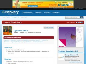 Dynamic Earth Lesson Plan
