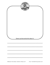Alaska: Draw and Write Worksheet
