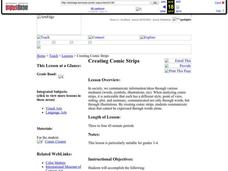 Creating Comic Strips Lesson Plan