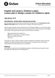 Design A Poster For Children's Rights Activities & Project