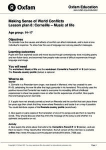 Making Sense of World Conflicts: Corneille - Music of Life Lesson Plan