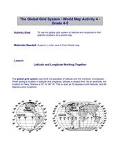 The Global Grid System-World Map Activity Lesson Plan