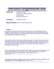 Globe Lesson- The Revolutionary War Lesson Plan