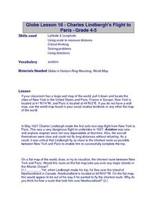Charles Lindberghs's Flight to Paris Lesson Plan