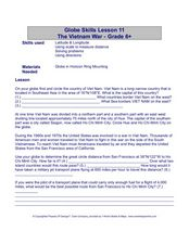 Globe Skills Lesson 11The Vietnam War Lesson Plan