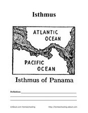 Isthmus of Panama Worksheet