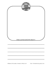 Wyoming: Draw and Write Worksheet