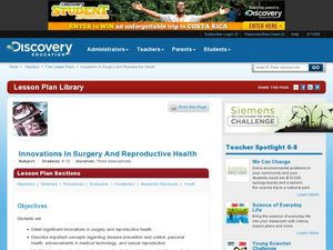 Innovations in Surgery and Reproductive Health Lesson Plan