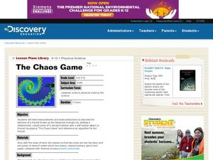 The Chaos Game Lesson Plan