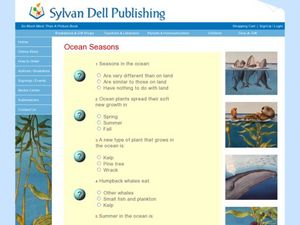 Ocean Seasons Worksheet