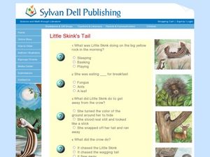Little Skink's Tail Worksheet