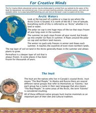 In Arctic Waters Worksheet