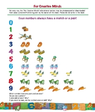 For Creative Minds: Even Numbers Lesson Plan