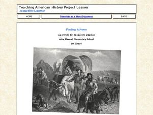 Teaching American History Project Lesson Lesson Plan