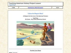Follow the Wagons West! Lesson Plan