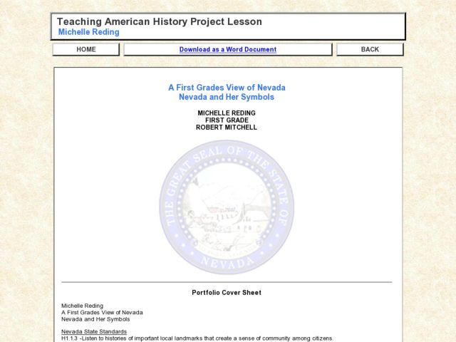 Nevada Lesson Plans Worksheets Lesson Planet