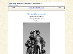 Westward Ho for Nevada Lesson Plan
