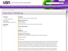 Decision Making Lesson Plan