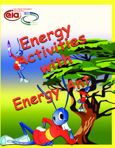 Energy Activities with Energy Ant Unit