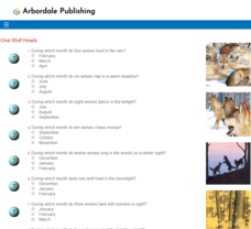 One Wolf Howls: Reading Quiz Assessment