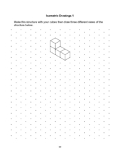 Isometric Drawings 1 Worksheet