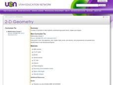 2-D Geometry Lesson Plan