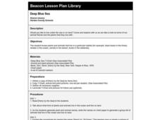 Deep Blue Sea Lesson Plan