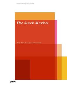 The Stock Market Lesson Plan
