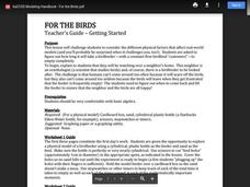 For the Birds Lesson Plan