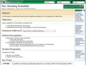 Fire: Modeling Probability Lesson Plan