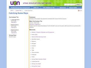 Catching Some Rays Lesson Plan