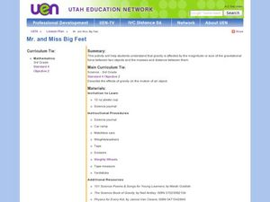 Mr. and Miss Big Feet Lesson Plan