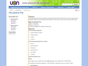 The Earth is Flat Lesson Plan