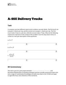 Delivery Trucks Activities & Project