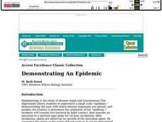 Demonstrating an Epidemic Lesson Plan